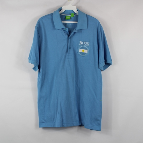 5fe986f8a Hugo Boss Shirts | Mens Large Paddy Polo Shirt Argentina | Poshmark